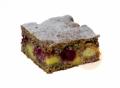 Makový koláč s pudinkem a višněmi 1001